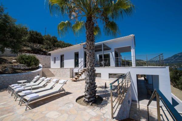 modern villa Lefkas