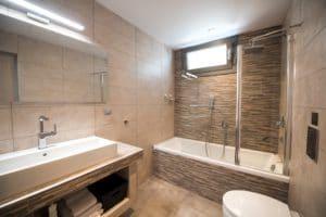luxury bathroom villa lefkas