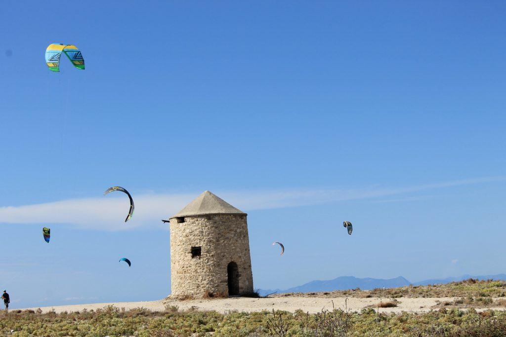 Windmills Gyra Lefkada
