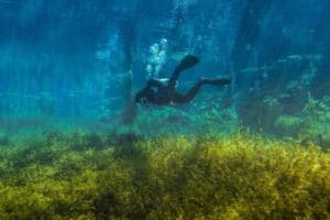 Diving Lefkada