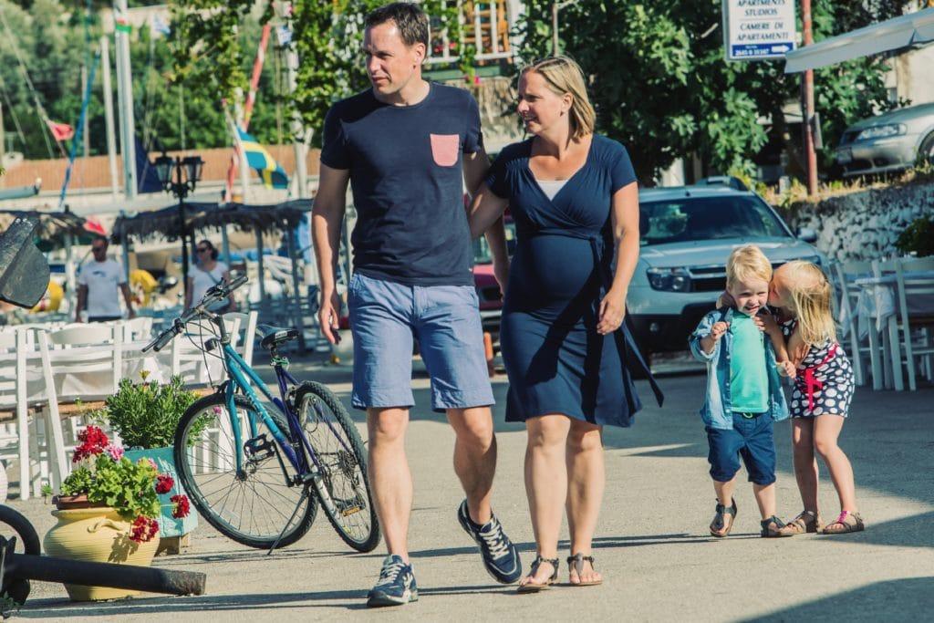 Vakantie gezin Griekenland