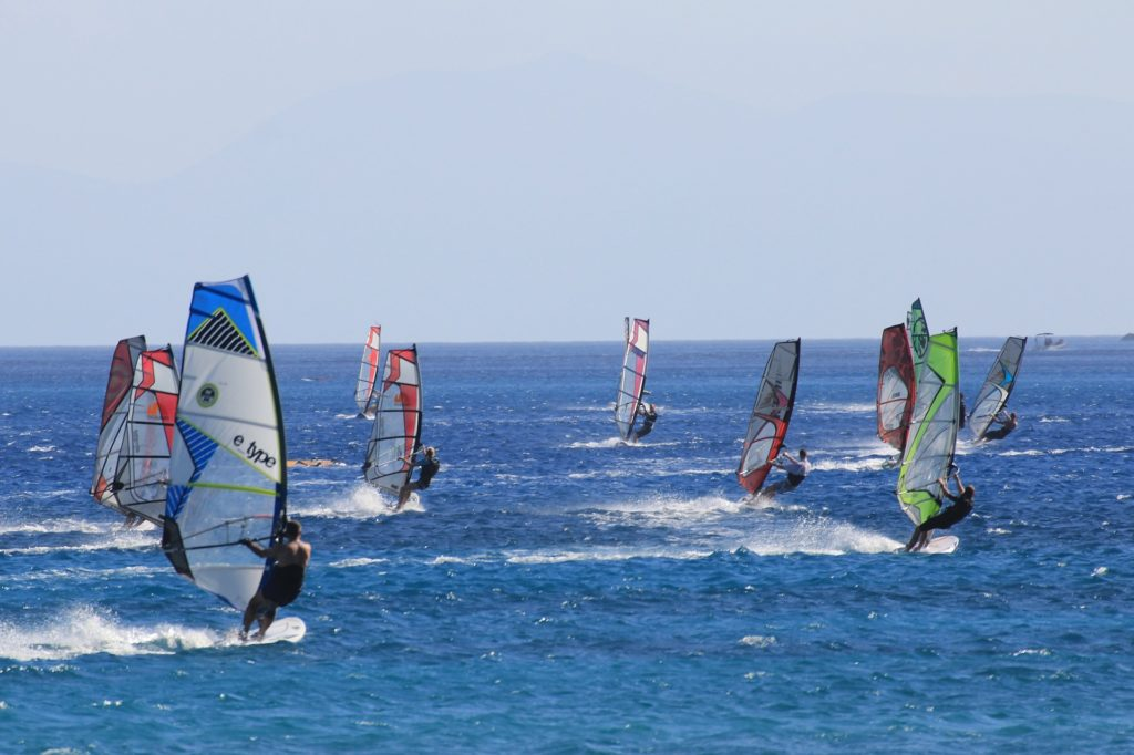 Windsurfing Vassiliki Lefkada Greece