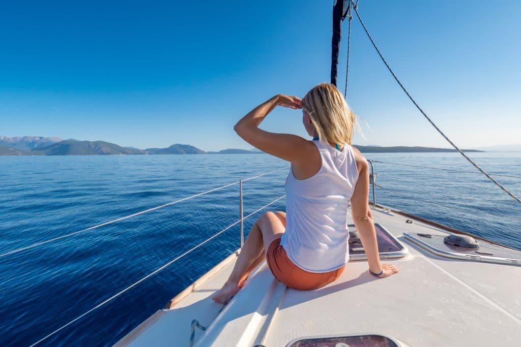 sailing Lefkada